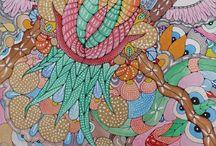 Arte / Pittura decorazioni e disegni.