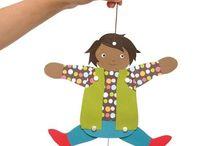 Marionett bábok