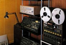 Vintage synthesizers