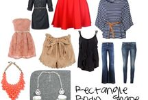 Outfits for rectangle body