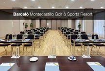 MICE / Barceló Montecastillo es un complejo hotelero especializado en el sector MICE ya que cuenta con unas instalaciones perfectas para la organización de reuniones, congresos, incentivos y eventos