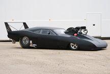 drag cars