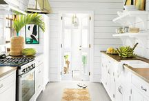 beach coastal kitchens