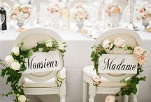 French Inspired Wedding Theme