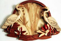 Intarsia Art, Wood / Intarzia fából