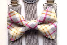 Ties, pocket squares, suspenders, belts, scarfs