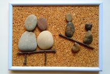 Kavics utca/Pebble street / Jelenetek a kavicsok életéből./Scenes from the life of pebbles.