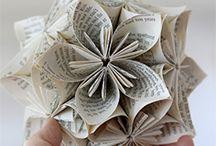 Creazioni con la carta!!