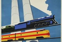 Art Deco Style / Vintage Travel Posters