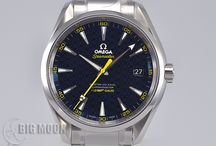 BIGMOON Omega Watches / A board of our newest arrivals of pre-owned Omega watches.