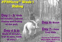 #FitHorse™ Weekly Riding Schedule