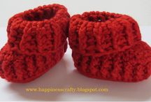 Knitting - Babies & Toddlers' Accessories / booties, mittens, hats