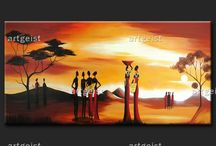 Quadri etnici e africani