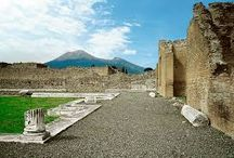 POMPEII AND SORRENTO / There is a certain thrill about  thinking at the Vesuvius as a sleeping beast, but the truth is that we talk about an active volcano. In 79 A. D. its burning ashes  buried this town  all of a sudden.