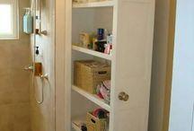 Be épített szekrény