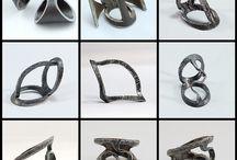 metal anillos