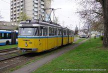 Debreceni Közlekedési Vállalat (DKV) - Bahnen / Sie sehen hier eine Auswahl meiner Fotos, mehr davon finden Sie auf meiner Internetseite www.europa-fotografiert.de.