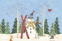 Láminas de Navidad....