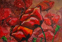Help decorate the house ... / Paintings filled with color and energy ...