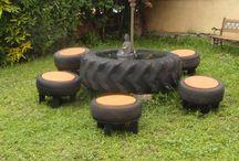 Riutilizzo di vecchi pneumatici