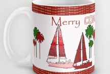 Coastal Christmas / Coastal Christmas ideas & products
