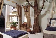 Kinderzimmer Baum Wandgestaltung