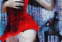 dança pintura