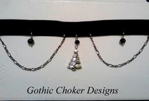 Have a very Scary Christmas... / Festive themed chokers and jewellery with a dark twist.