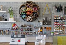 """My """"one day"""" craft room... / how to design and layout my craft room"""