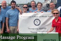 TRIMOM Special Events - Massage at CCRI
