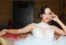 Nagy Ágota wedding dress