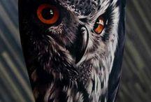 Owl tatoos