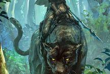 Fantasy Art: Hunter