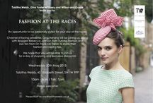Fashion at the Races / Tabitha Webb, Gina Foster and Wilbur and Gussie invite you to Fashion At The Races. An opportunity to be personally styled for your day at the races. We hope you can join us for a day of shopping and exclusive discounts on Wednesday 20th May 2015. Tabitha Webb Store, 45 Elizabeth Street, London SW1W 9PP.  / by Gina Foster Millinery
