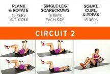 Workouts / by Sarah Villegas