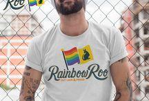 Rainbow Roo T-Shirts / T-Shirt Designs for Rainbow Roo