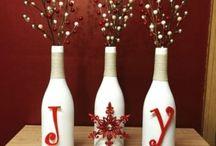 Christmas bottles