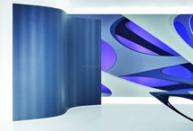 Zaha Hadid WallCovers by Marburg / Famous designers wallpapers