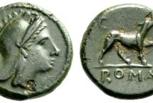Dogs on ancient coins / Dogs and hounds on Greek and Roman coins