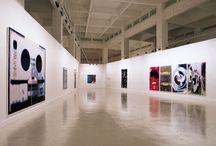 Peter Zimmermann / Una veintena de pinturas realizadas con resina epoxi y tratadas previamente con técnicas digitales.