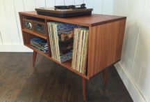 Record Player Consoles
