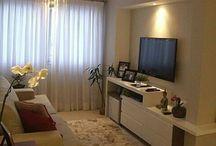 sala e cortinas