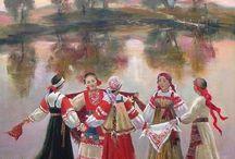 Хоровод, танец / el corro, el baile