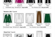 Wardrobe in a Suitcase / Building a capsule wardrobe small enough to fit inside a suitcase. / by Daisy Paisy