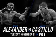Devon Alexander vs Walter Castillo PBC Nov 21, 2017 on FS1