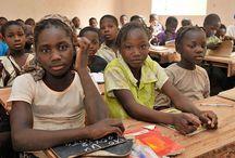 Mali: Zentrum der Arbeit des Kinderhilfswerk Dritte Welt / Hier findet ihr Bilder zu unserem Hauptprojektland Mali.