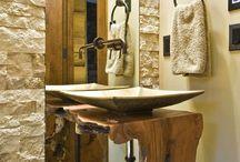 Lavabos e Banheiros / #moreemcampinas #campinas #campinassp #decor #decoracao #homedecor #lifestylecps #designdivino #inspiracao #arquitetura #interiores #interiordesign #puracriatividade #home #casa #details #charme#detalhes #banheiro #madeira #luxo #retro #moderno #sofisticado #iluminacao #wc #bathroom #bath #espelho #box #pastilha #toalete #toillet #lavabo #revestimento #cuba #banheira #ducha #chuveiro #granito #marmore