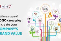 Website, Graphic & Logo Design / Hih7 Webtech gives the clients a platform for their website Graphic & Logo Design
