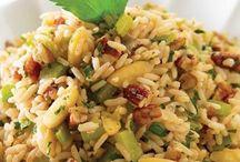 arroz con nueces y almendras