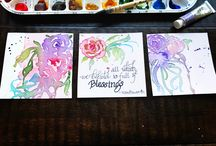 Watercolours by EE